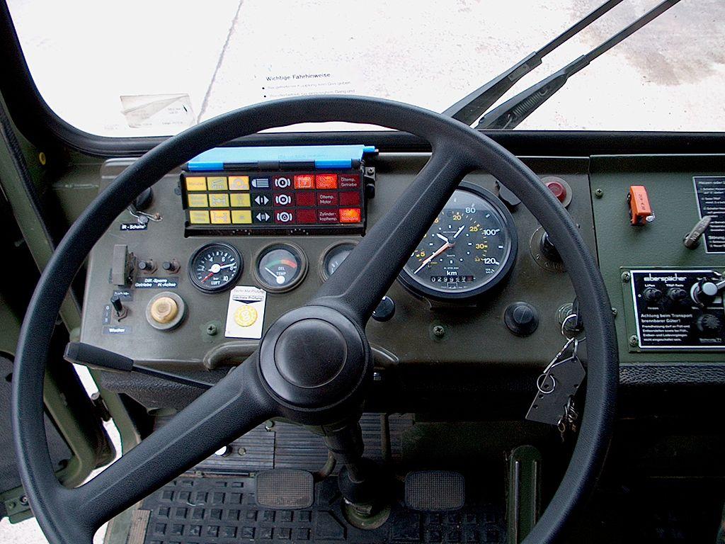 10 tonner Cockpit